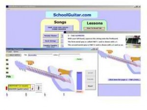 10 School Guitar Learning Software