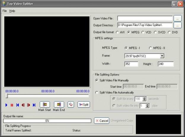 10Top Video Splitter 2.0