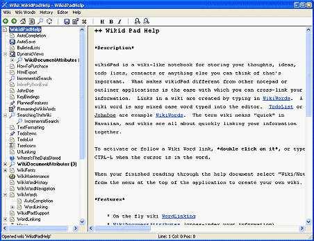 10wikidPad