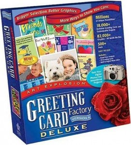 4Greeting Card Factory Deluxe