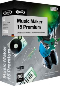 5 MAGIX Music Maker 15 Premium Software