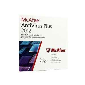 8 McAfee AntiVirus Plus 2012