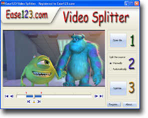 9Ease 123 Video Splitter 1.0.1