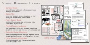2 Virtual Bathroom Planners