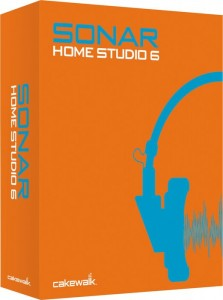 3 Cakewalk SONAR Home Studio 6 Recording Software