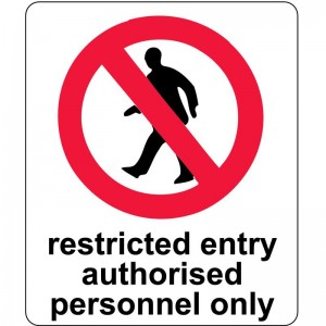 3. Control restrictions