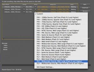 7. Adobe Media Encoder