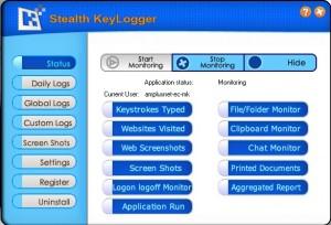 8. Stealth Keylogger