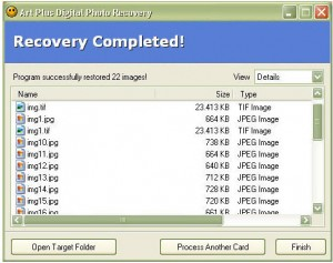 6. Art Plus Digital Photo Recovery