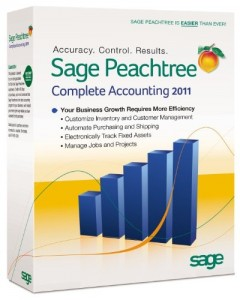 1.  Sage Peachtree Complete Accounting