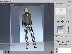 Clothes Design Software and the designs can be