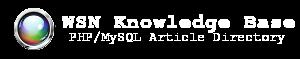 11.  WSN Knowledge Base