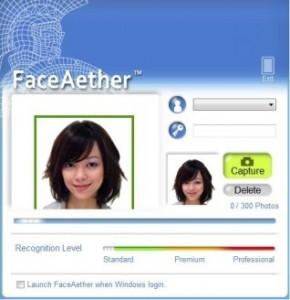 2 FaceAether Windows Log In