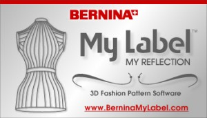 My label 3d fashion by bernina