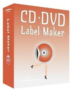 5.Acoustica CDDVD Label Maker
