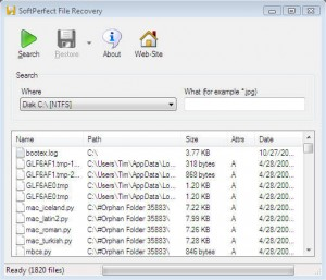 4 SoftPerfect File Recovery