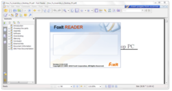 9. Foxit Reader