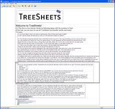 TreeSheets