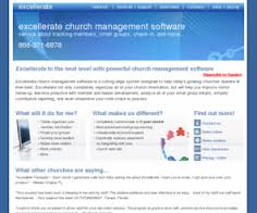Excellerate Church Software