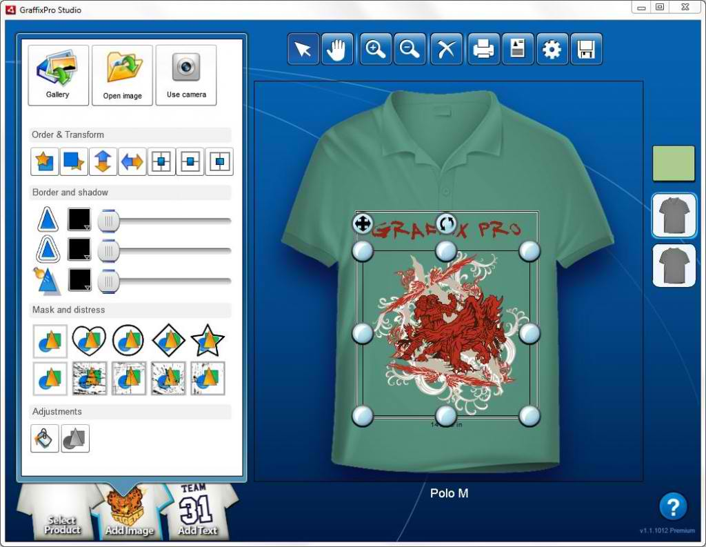 Design t shirt corel draw - Graffixpro Studio Software