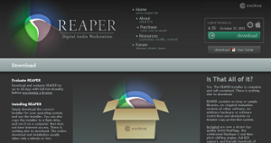 Reaper beat making software