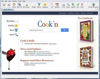 Cook'n Recipe Organizer