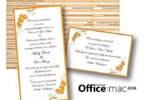 wedding invitation software for mac