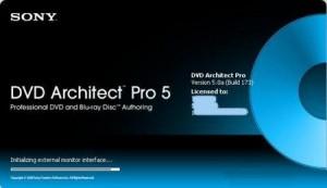 2Sony DVD Architect Studio