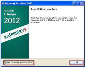 3 Kaspersky Anti-Virus 2012