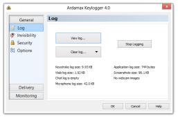 10. Ardamax Keylogger
