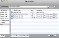 Backuplist+ by Rob DuToit