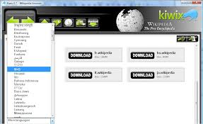 Kiwix book writing software