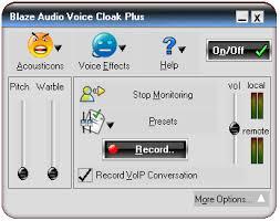 Blaze Audio Voice Cloak Plus